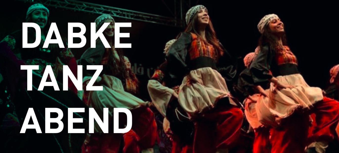 Herzliche Einladung zum Dabke-Tanzabend am 14. Februar