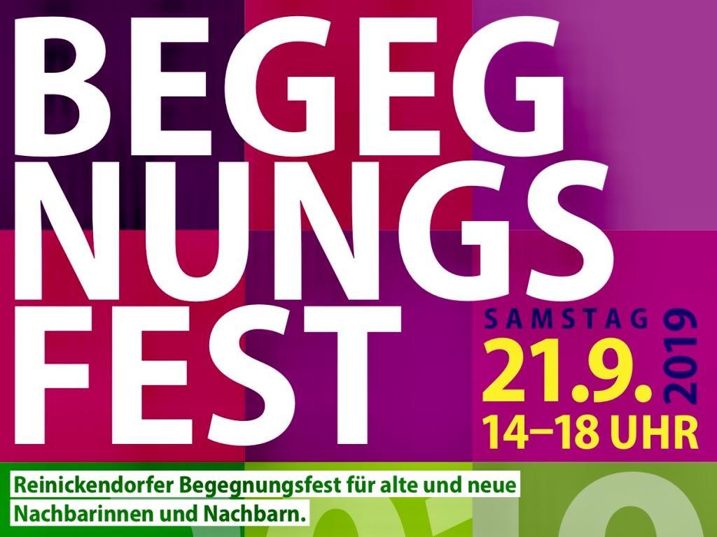 Reinickendorfer Begegnungsfest am 21. September 2019 im Märkischen Viertel