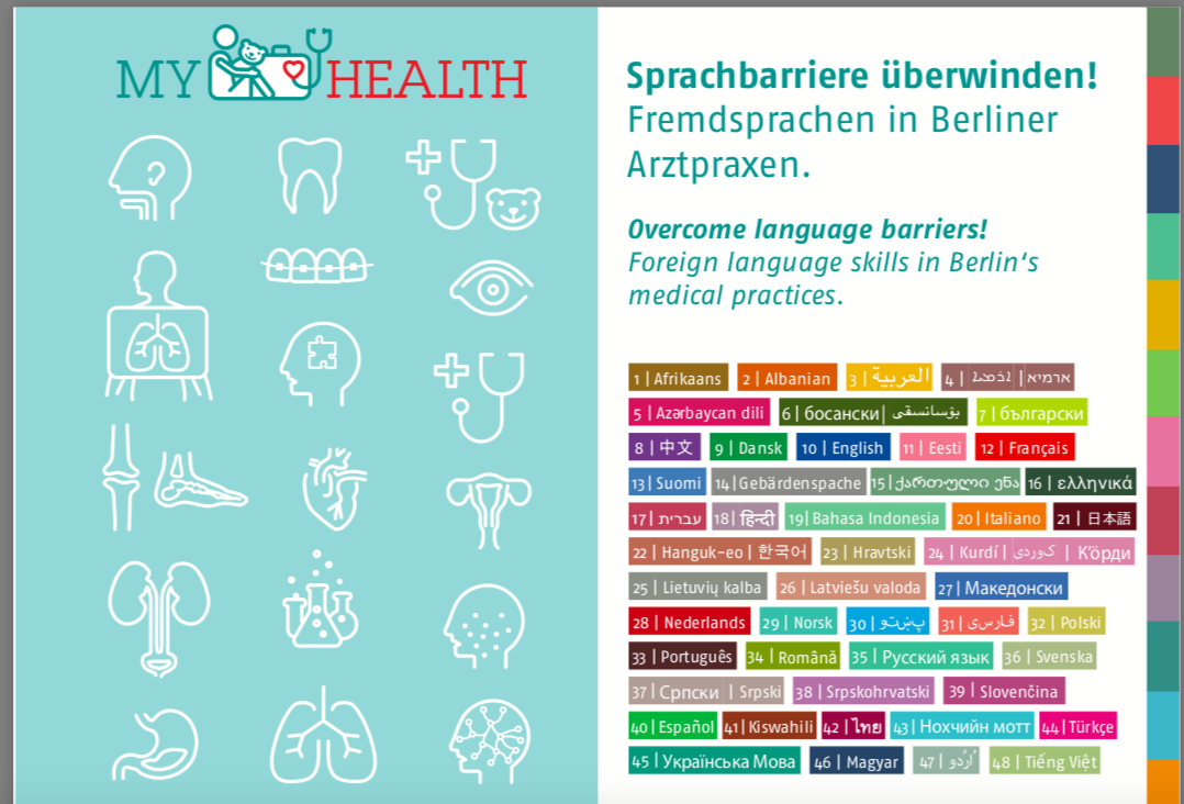 Sprachbarriere überwinden! Fremdsprachen in Berliner Arztpraxen