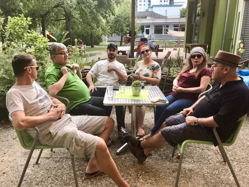 Neustart Café International am 14. August