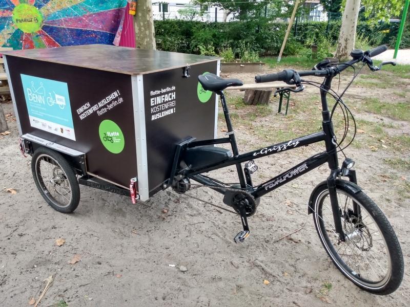 Salam, BENN's Lastenrad für das Märkische Viertel
