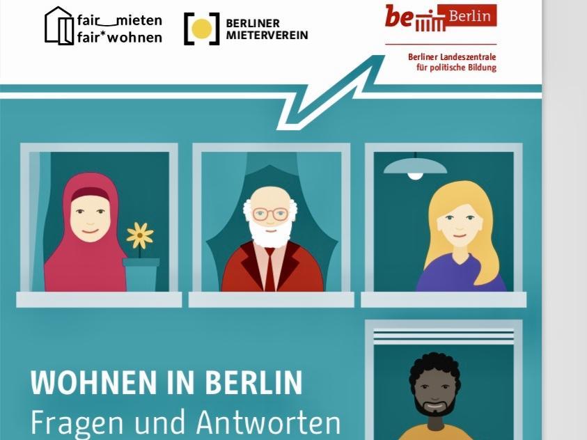 """Broschüre """"Wohnen in Berlin"""" – Fragen und Antworten in verschiedenen Sprachen"""