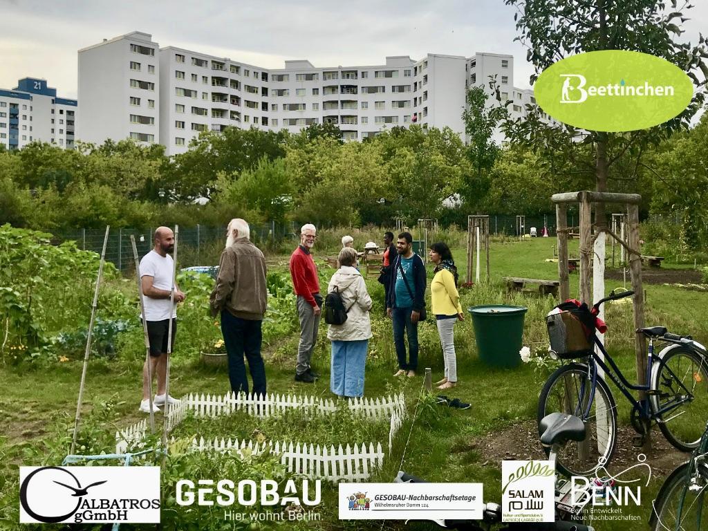 Gartenfest im Nachbarschaftsgarten Beettinchen am 29. September
