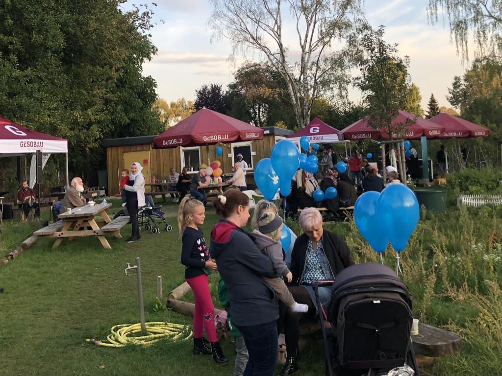 Gartenfest im Beettinchen am 28. September